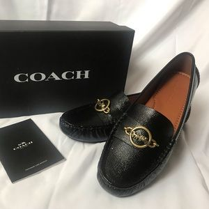 Coach Margot Loafer in Black Size 7.5